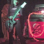 Guitarist Roach of Groovie Ghoulies at El Torreon