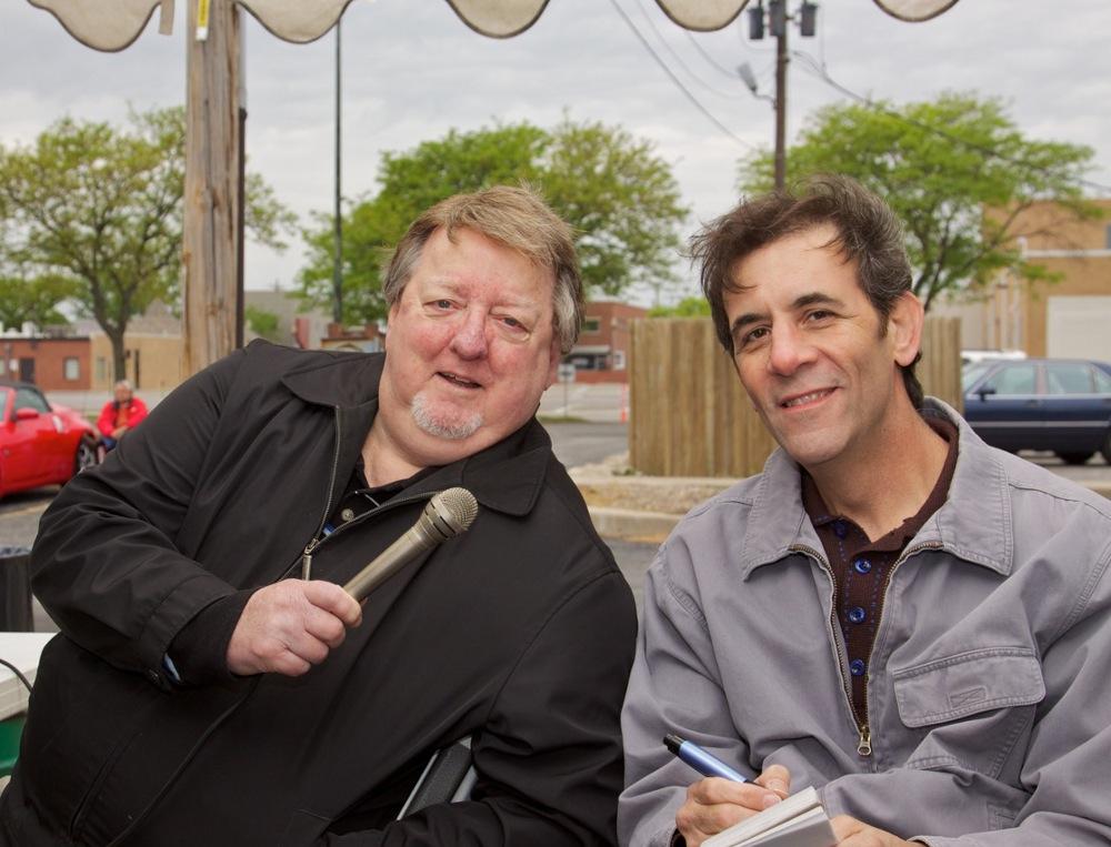 Interviewing Phil Jay At The North Kansas City Classic Car Cruise May 14 2011