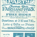 This handbill is from 1970. Similar events were held in 1971 and '72 at Fairyland.