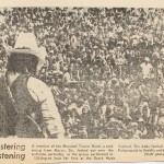 The KC STar and Times' coverage of the OMF was sometimes positive, sometimes sneering.