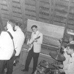 Larry Emmett and the Sliders, probably at Barry&#039;s Barn in Olathe, Kan.