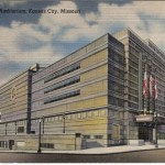 Vintage postcard showing the WPA-era building.