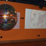 Cowtown Ballroom mirror ball.