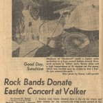 dinding batu dimainkan berkali-kali di musim panas Minggu Volker Taman cinta-in dari tahun 1970-an.