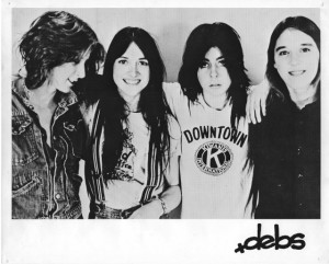 The Debs were Kris Garnier (G), (from left) Peggy Smith (D), Terry Cone (B) and Katie Coffman (G).