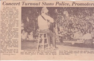 Clip from KC Star July 8, 1970.